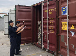 China customs officials Hangzhou