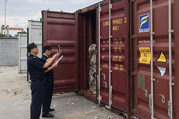 China customs officials Hangzhou
