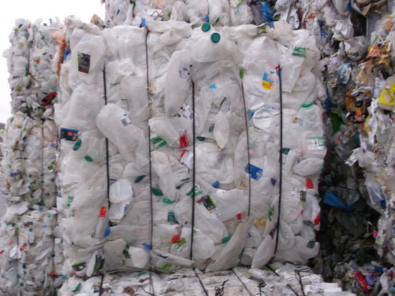 HDPE bottles recycling
