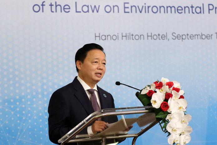 Tran Hong Ha Vietnam Environment Minister