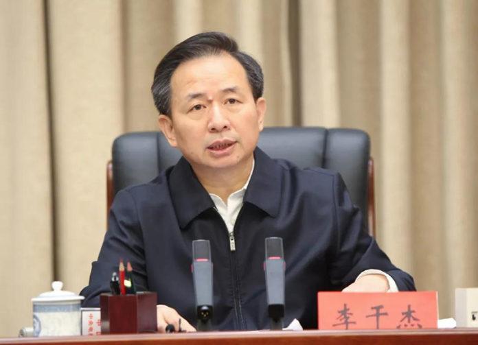 Chinese Environment Minister Li Ganjie