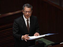 Paul Chan Financial Secretary Hong Kong