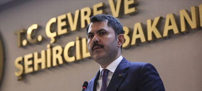 Turkey Environment Minister Murat Kurum