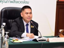 Thailand Environment Minister Warawut Silpa-archa
