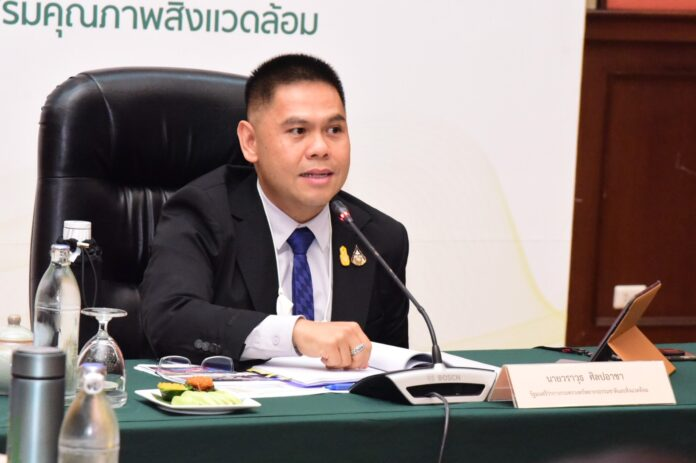 Thailand Environment Minister Warawut Silpa-archa