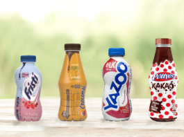 FrieslandCampina bottles 100% rPET