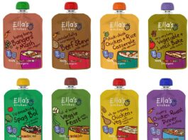 Flexible packaging Ella's Kitchen