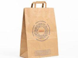 Mondi Tesco paper shopping bags