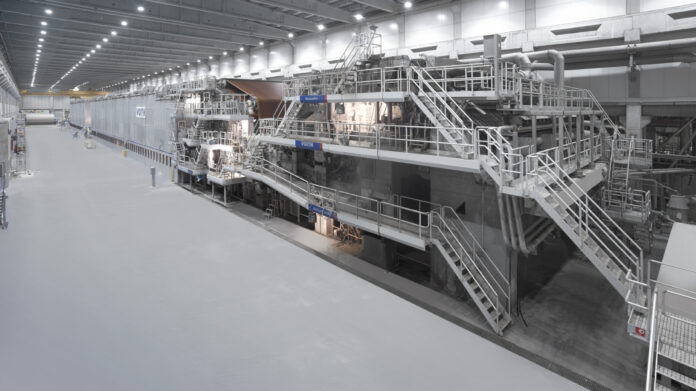 Modern Karton mill