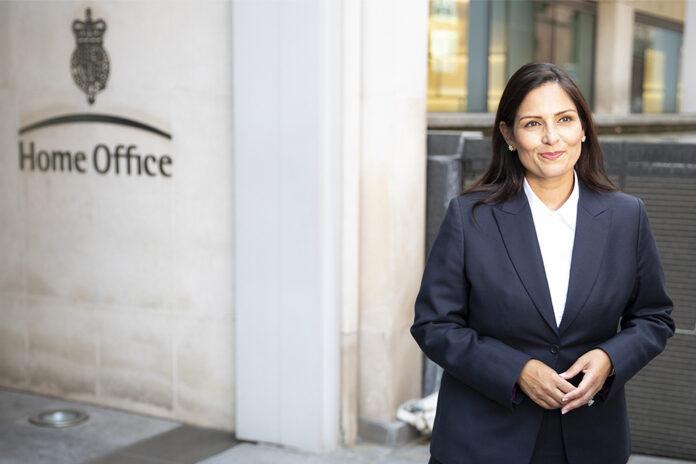 Home Secretary Priti Patel